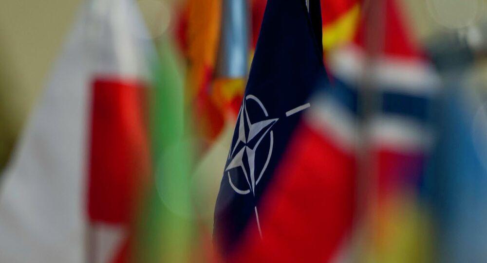 Drapeau de l'OTAN