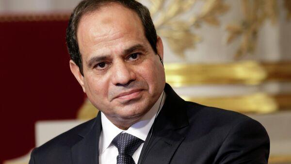 Egyptian President Abdel Fattah al-Sisi - Sputnik France