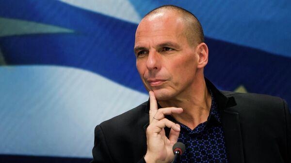 Le ministre grec des Finances Yanis Varoufakis - Sputnik France
