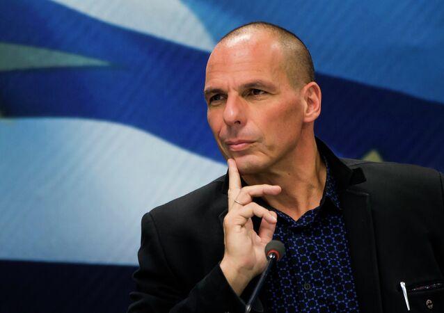 l'ex-ministre grec des Finances, Yanis Varoufakis