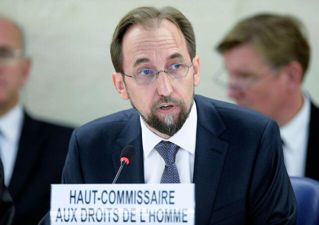Zeid Ra'ad Zeid Al Hussein. Archive photo