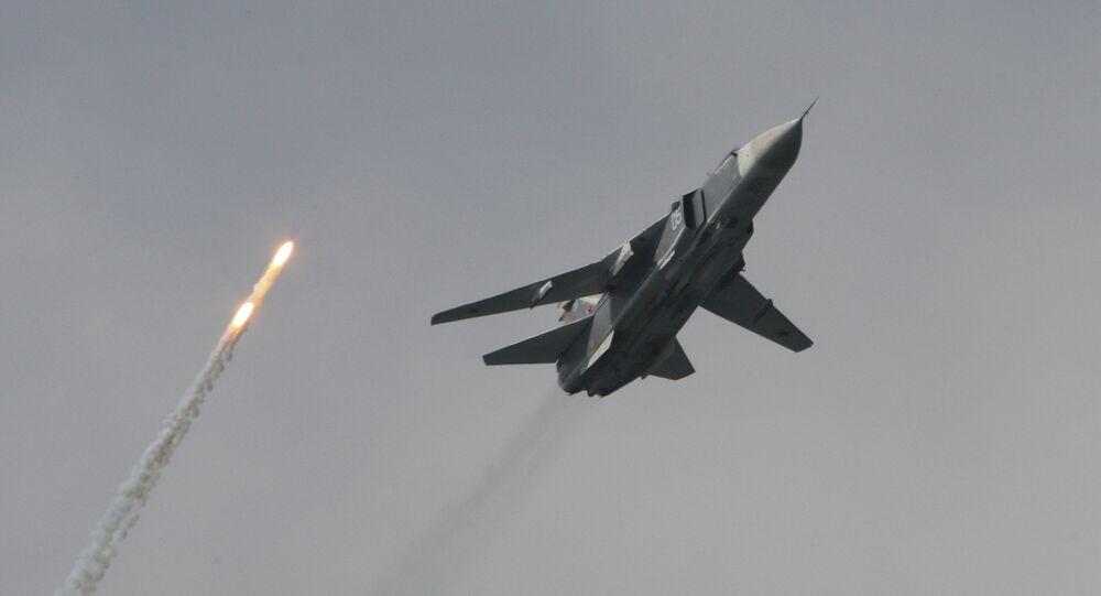 Un bombardier Su-24M