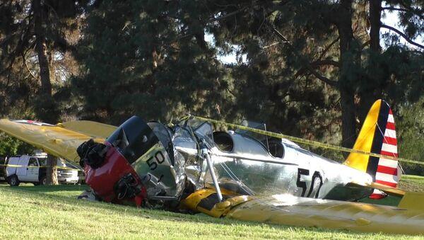 L'avion de Harrison Ford s'écrase près de Los Angeles - Sputnik France