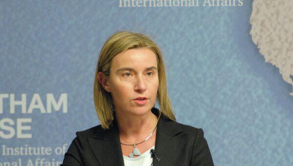 Federica Mogherini, High Representative of the European Union for Foreign Affairs and Security PolicyLa diplomatie européenne Federica Mogherini - Sputnik France