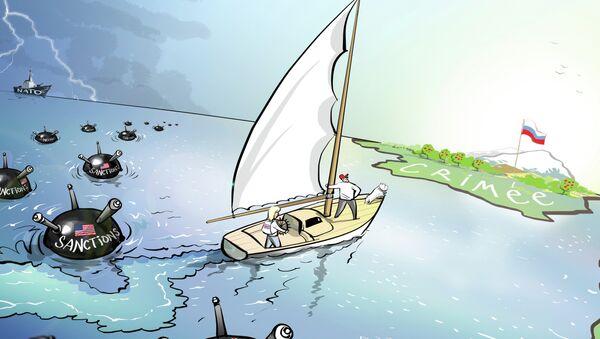 La Crimée, contre vents et marées - Sputnik France