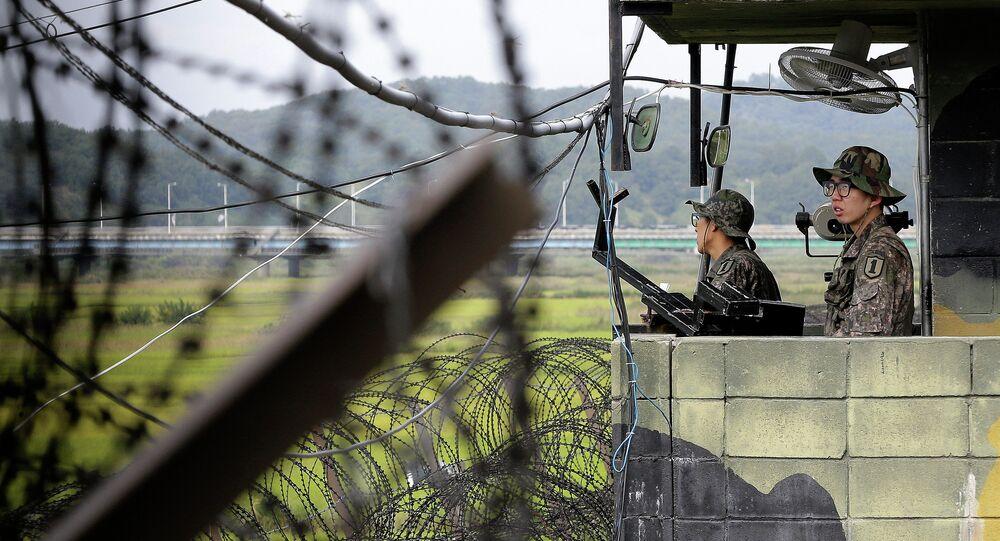Soldats sud-coréens