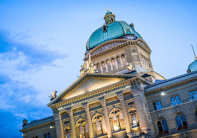 Palais fédéral à Berne