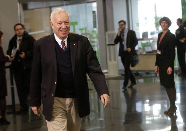 Le ministre espagnol des Affaires étrangères José Manuel Garcia-Margallo