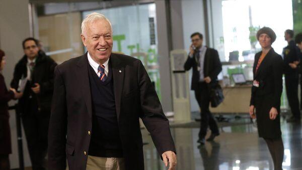 Le ministre espagnol des Affaires étrangères José Manuel Garcia-Margallo - Sputnik France
