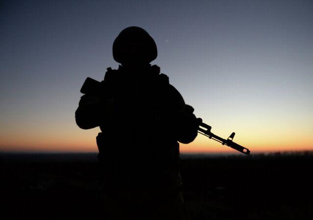 Combattant du Donbass