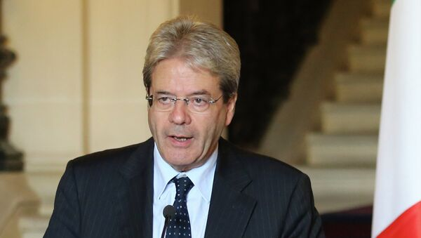 Paolo Gentiloni, ministre des Affaires étrangères de l'Italie - Sputnik France