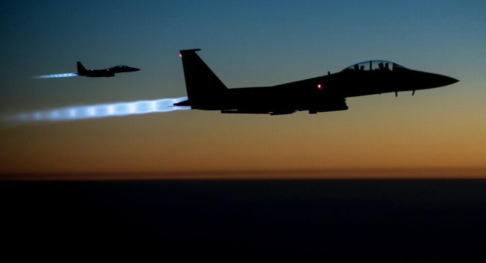 Forces aériennes de coalition internationale contre l'État Islamique (EI)