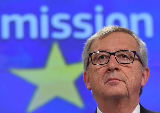 Président de la Commission européenne Jean-Claude Juncker