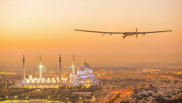 L'avion solaire Solar Impulse 2 - Sputnik France