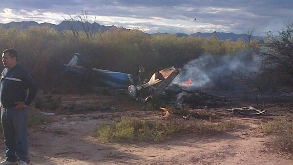 Helicopters crash site - Sputnik France