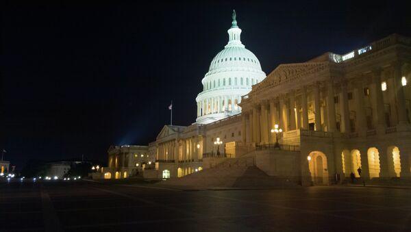 US Capitol at Night - Sputnik France