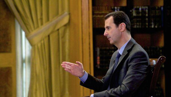 Syrian President Bashar Assad - Sputnik France