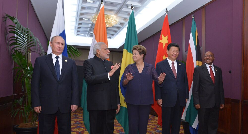 Les chefs d'Etat des BRICS