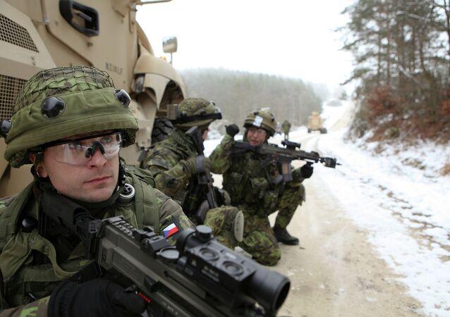 Des soldats de l'armée tchèque (Archives)