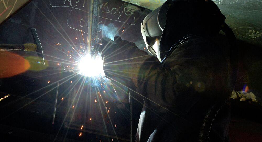 Un ouvrier de STX France