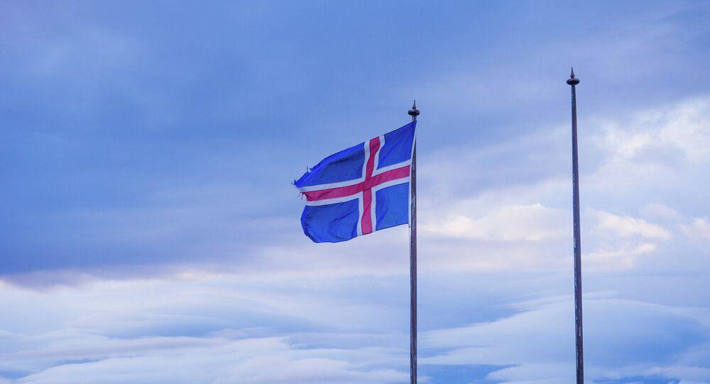 Le drapeau de l'Islande