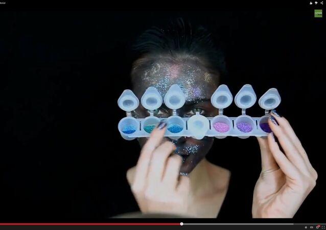 Maquillage dans le genre fantasy