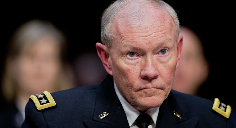 Martin Dempsey. Archive photo