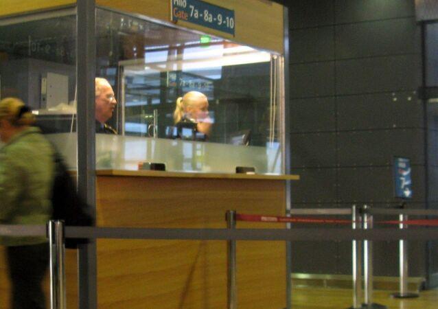 Le contrôle des passeports