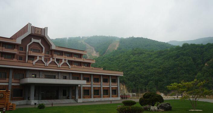 Masikryong Ski Resort en été