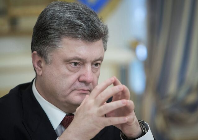 Le président d'Ukraine Petr Porochenko