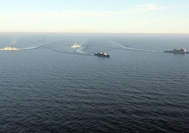 des navires US (images d'illustration)