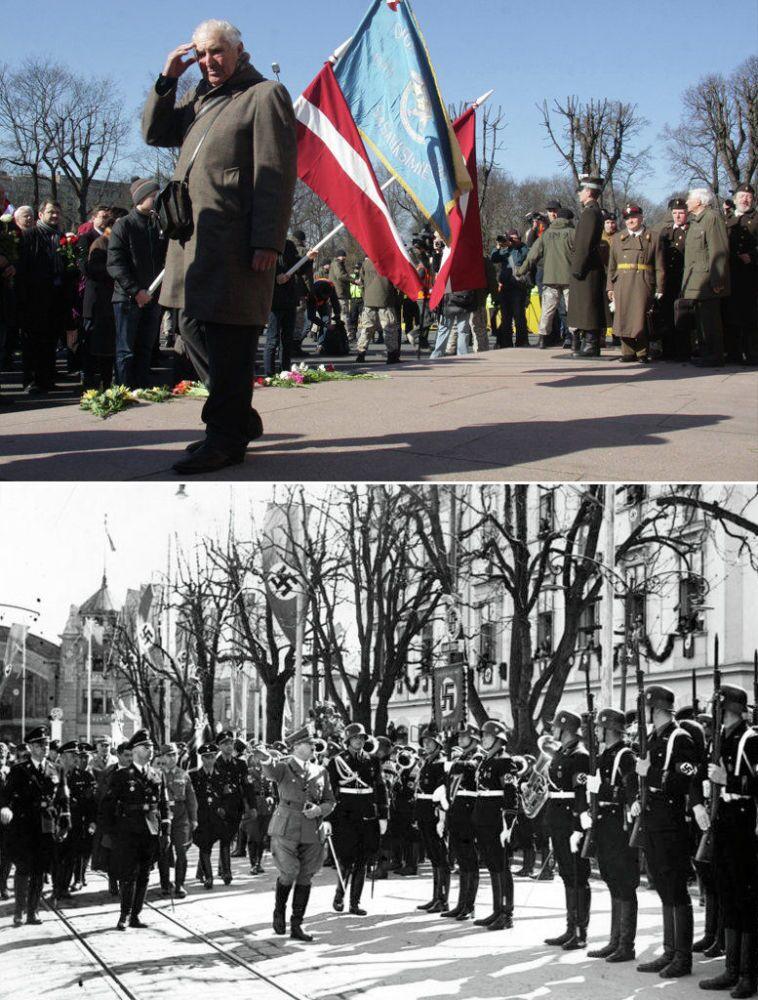 Riga: marche d'anciens SS et crimes des nazis pendant la 2e guerre mondiale