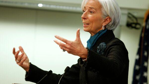 La directrice générale du Fonds monétaire international (FMI) Christine Lagarde - Sputnik France