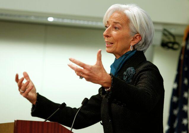 La directrice générale du Fonds monétaire international (FMI) Christine Lagarde
