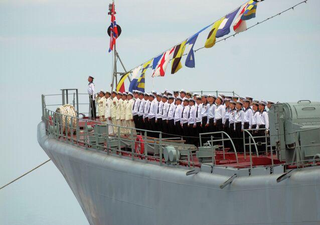 Les militaires de la Flotte de Mer Noire, Sevastopol