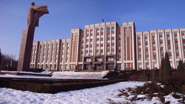 Government building in Tiraspol, Transnistria - Sputnik France