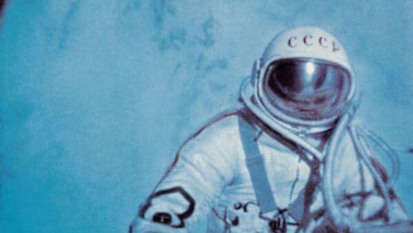 Алексей Леонов в открытом космосе - Sputnik France