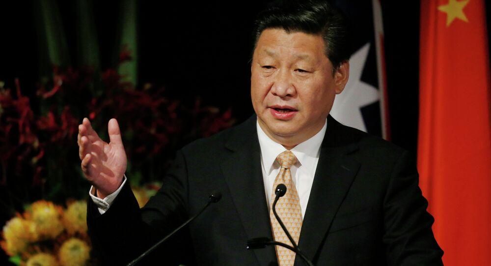 Le président chinois Xi Jinping