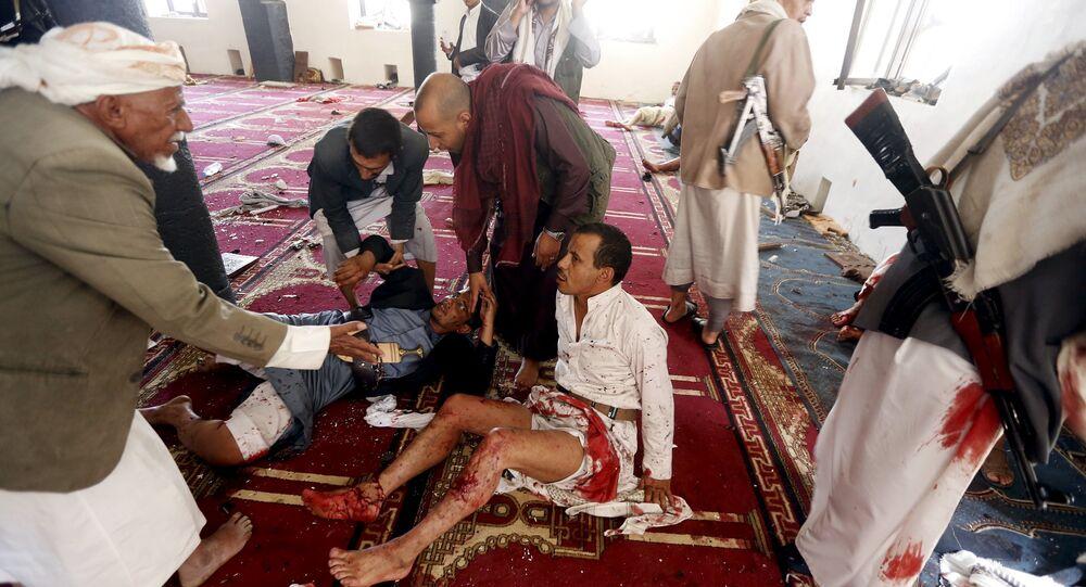 Après l'attentat dans une mosquée à Sanaa