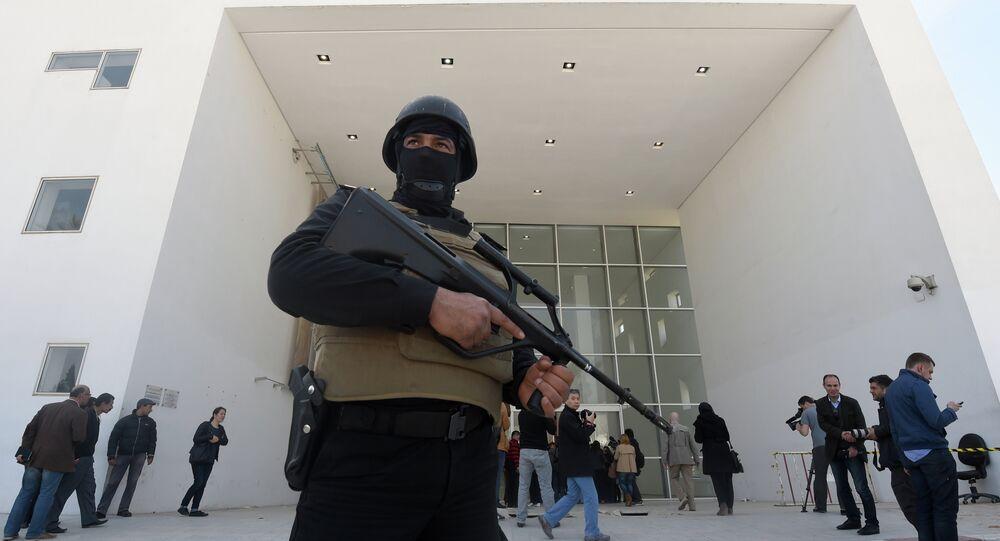 Des agents de sécurité