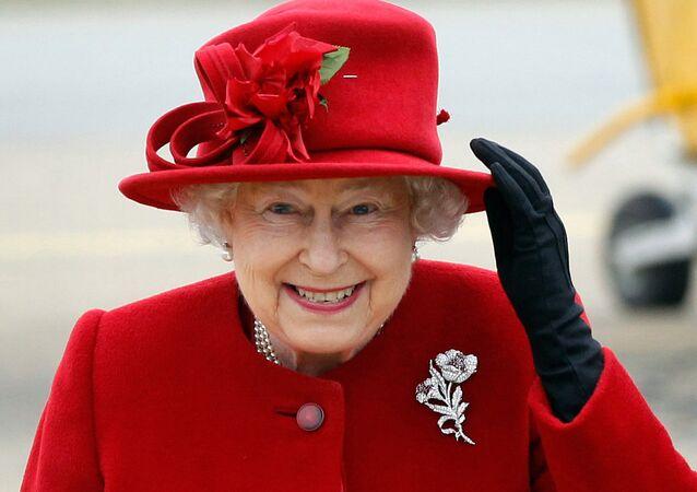 La reine britannique Elisabeth II