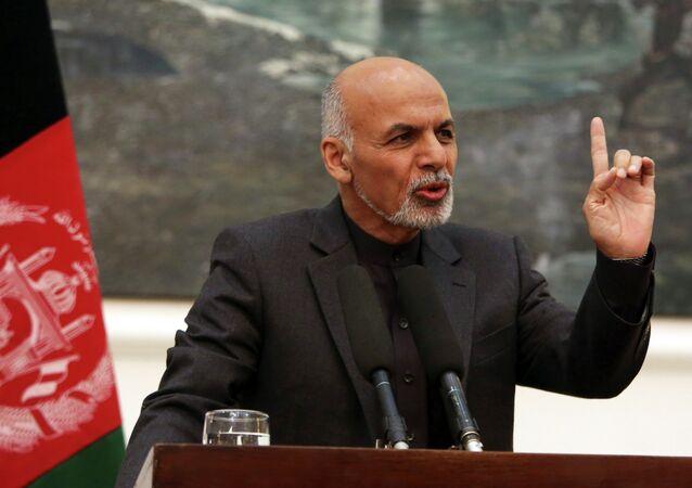 Le président afghan Ashraf Ghani