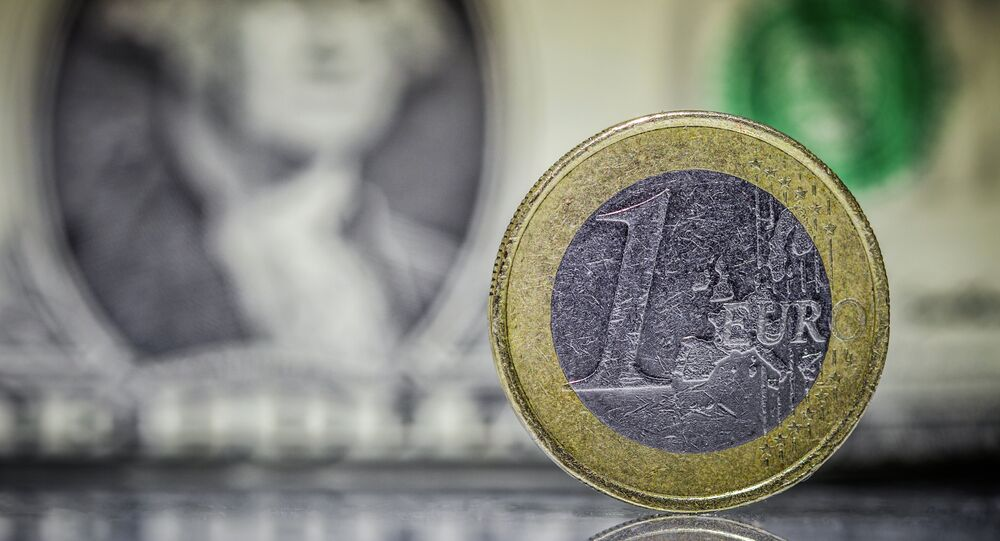 Euro et dollar