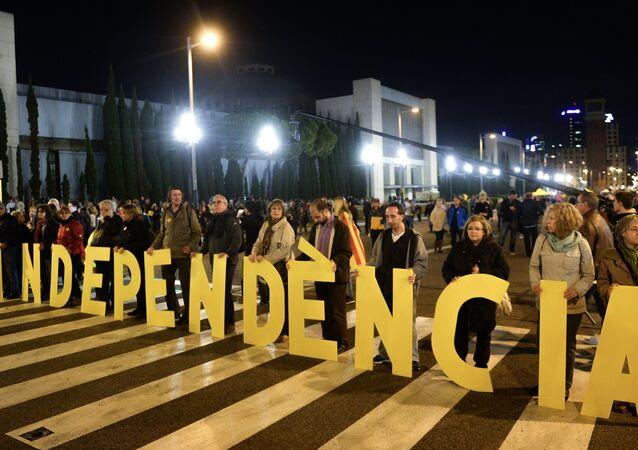Meeting en soutien de l'indépendance de la Catalogne