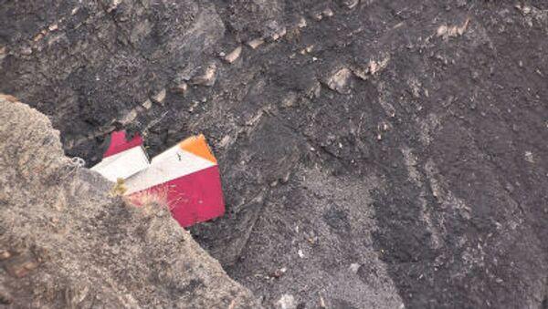 Обломки самолета Airbus A320, разбившегося в горах Франции - Sputnik France