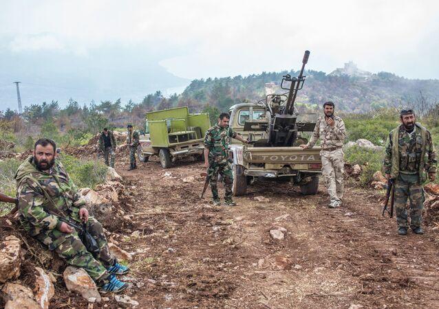 Soldats syriens