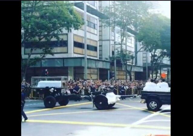 Singapour endeuillée par le décès de Lee Kuan Yew
