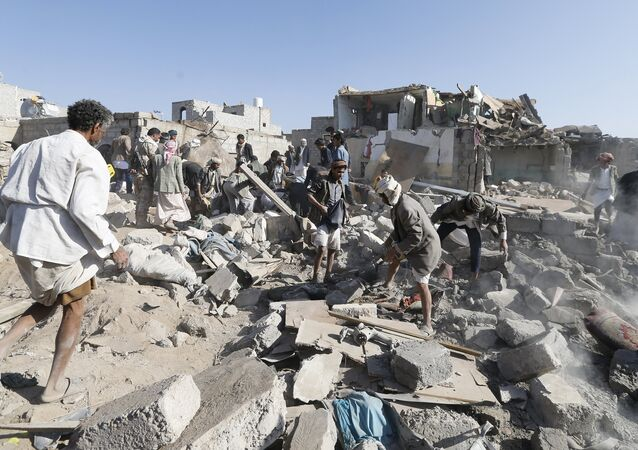 Attaque contre l'aéroport de Sanaa, 26 mars 2015.