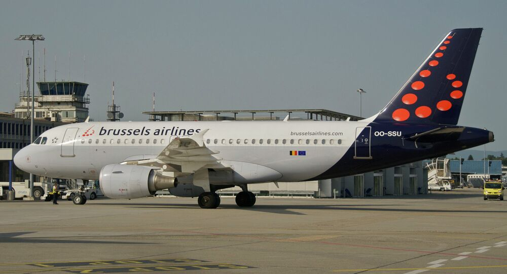 Un Airbus A319-111 de Brussels Airlines (image d'illustration)