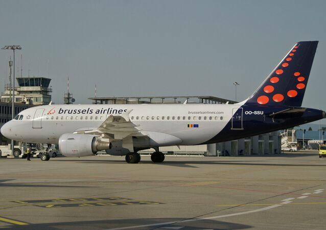 Un Airbus A319-111 de Brussels Airlines (image d'illustration)